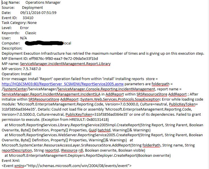 reportcode-error